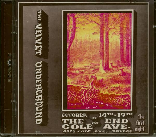 Live At The End Of Cole Ave 1969 (2-CD)