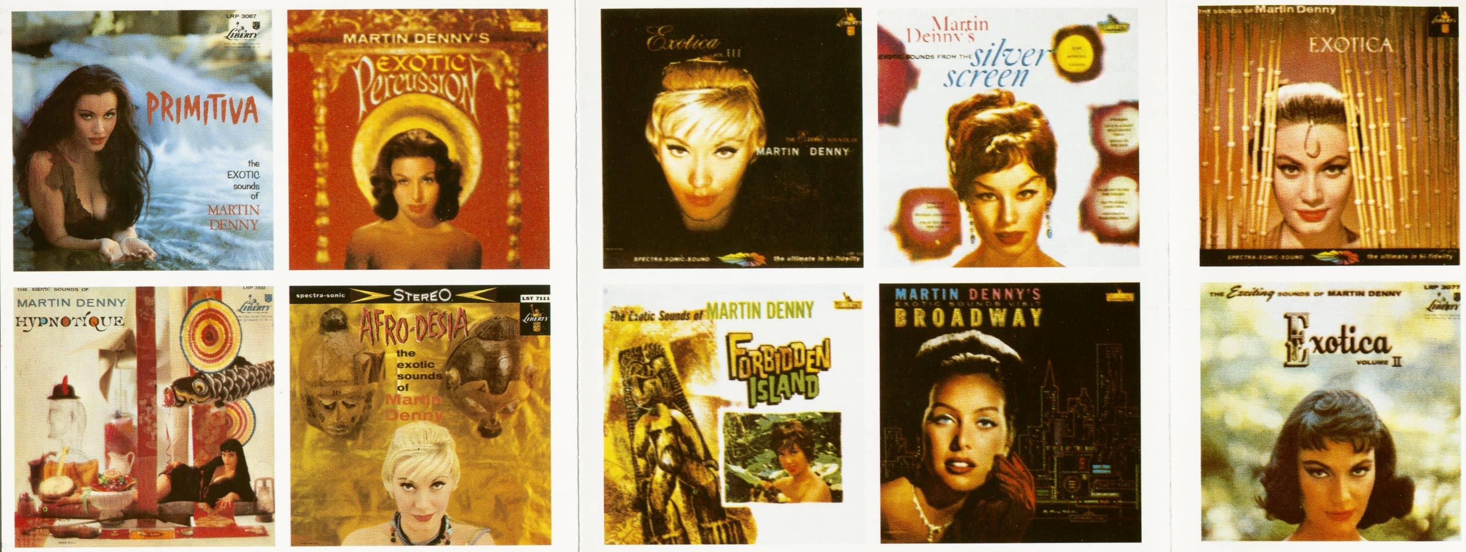 Martin Denny The Exotic Sounds Of Martin Denny (CD)