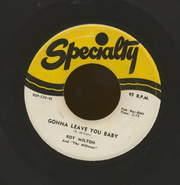 Gonna Leave You Baby - It's Too Late (7inch, 45rpm)