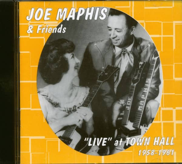 Joe Maphis & Friends Live At Town Hall 1958-61 (CD)