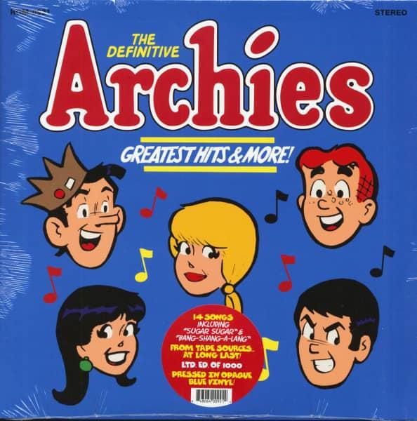The Definitive Archies - Greatest Hits & More (LP, Opaque Blue Vinyl, Ltd.)