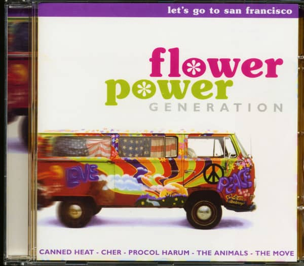 Flower Power Generation - Let's Go To San Francisco (CD)