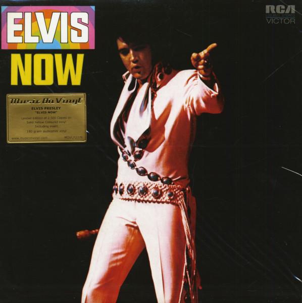 Elvis Now (LP, Colored Vinyl, Ltd.)