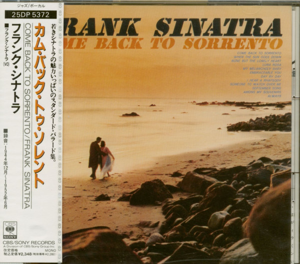 Come Back To Sorrento (CD, Japan)