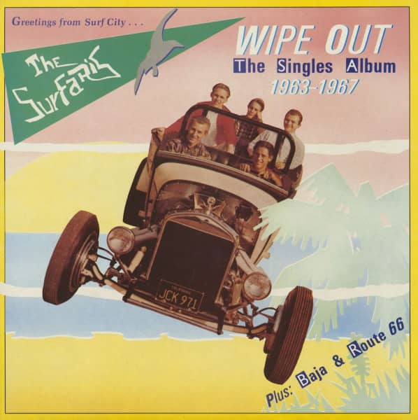 Wipe Out - The Singles Album 1963-67 (LP)