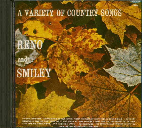 A Variety Of Country Songs (CD)