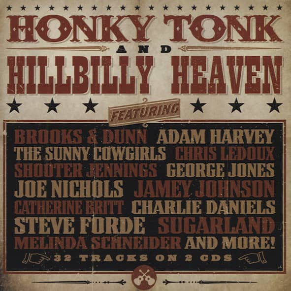 Honky Tonk & Hillbilly Heaven (2-CD)