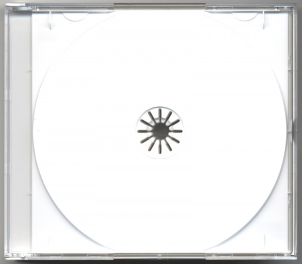 CD multipack with white Tray for 4 CDs