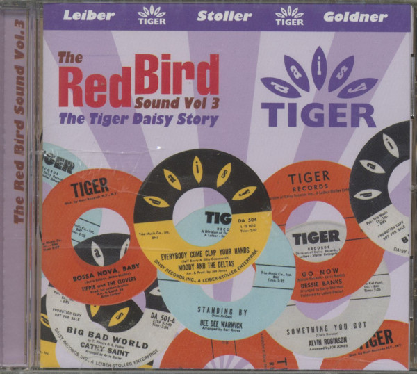 The Red Bird Sound, Vol.3 - The Tiger Daisy Story (CD)