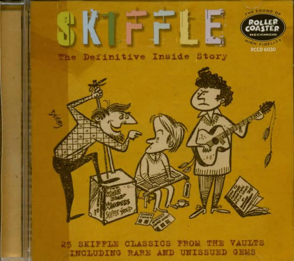 Skiffle - The Definitive Inside Story (CD)