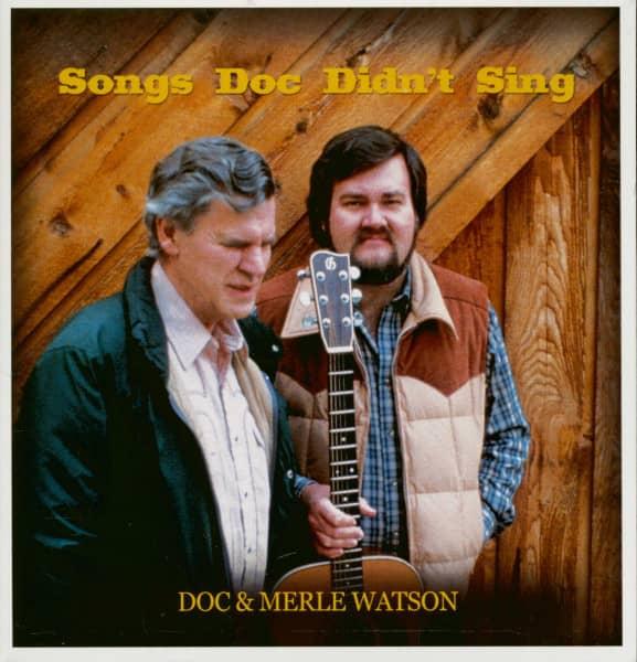 Songs Doc Didn't Sing (CD)