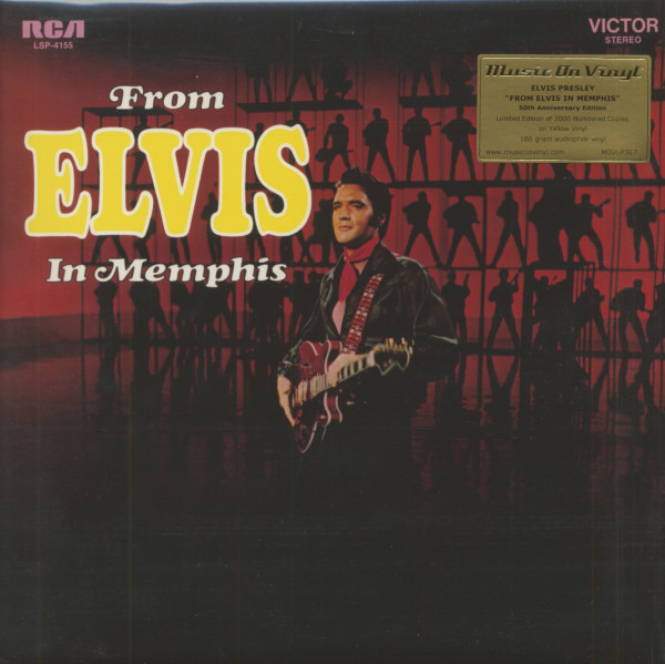 From Elvis In Memphis (LP, 180g, Colored Vinyl, Ltd.)