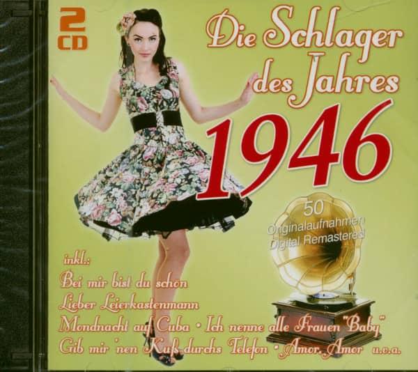 Die Schlager des Jahres 1946 (2-CD)