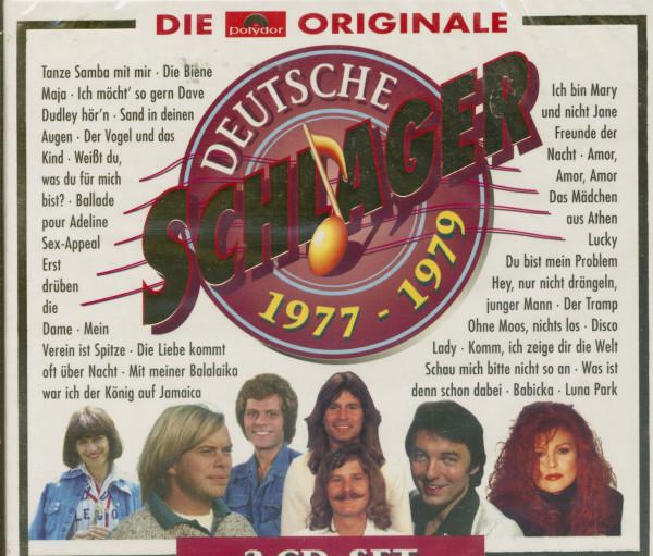 Deutsche Schlager 1977-1979 (3-CD)