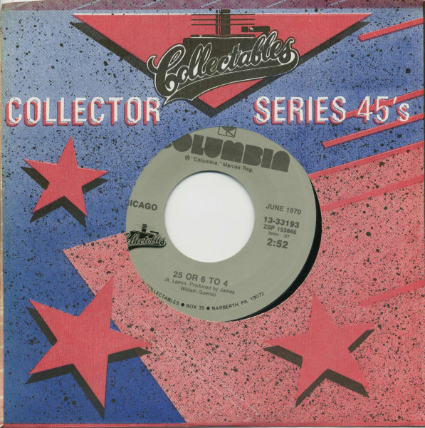 25 Or 6 To 4 -Make Me Smile (7inch, 45rpm, BC, CS)