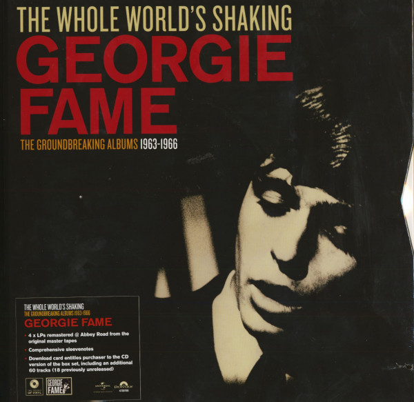 The Whole World's Shaking - The Groundbreaking Albums 1963-1966 (4-LP Box Ltd.)