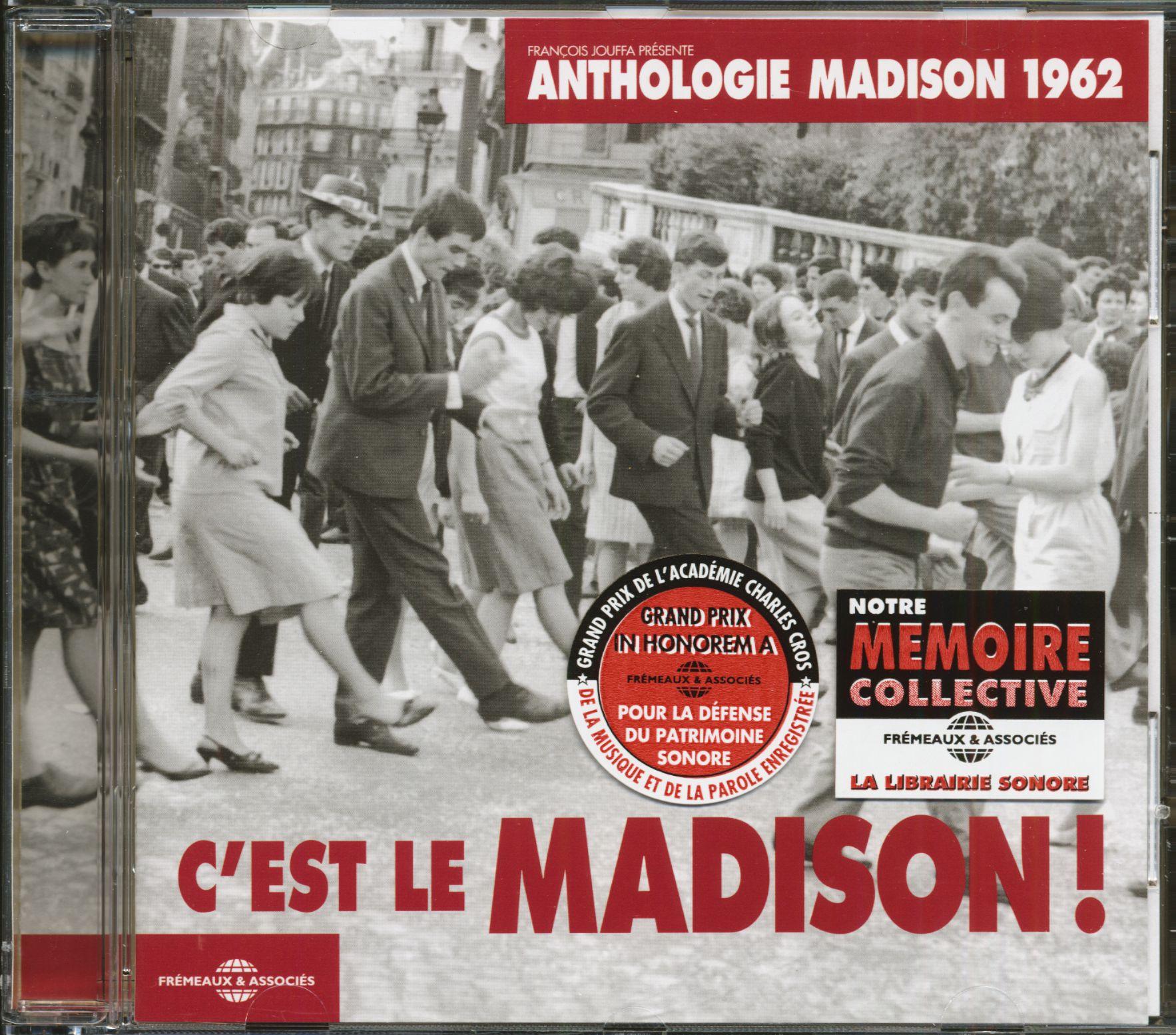 Tiptoeing Through Tulips After Madisons >> Various Cd Anthologie C Est Le Madison 1962 Cd Bear Family