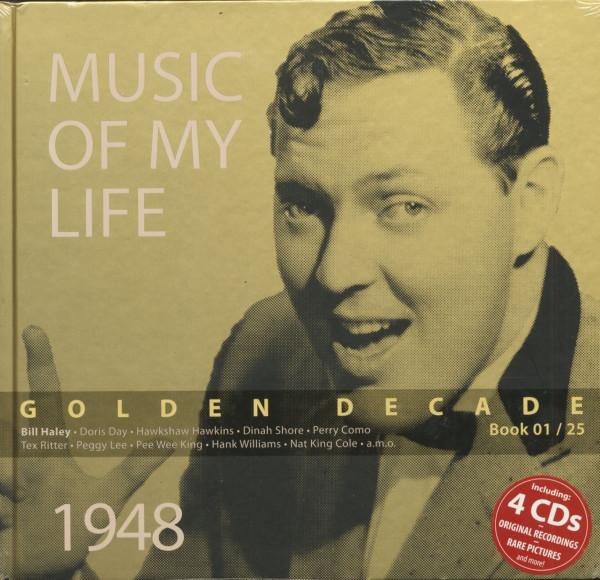 Golden Decade Vol.1 - 1948 (Book & 4-CD)