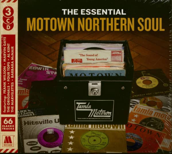 The Essential Motown Northern Soul (3-CD)