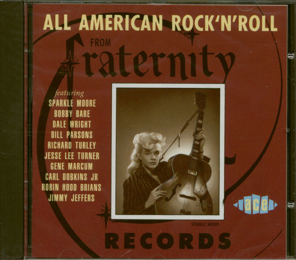 All American Rock & Roll From Fraternity (CD)