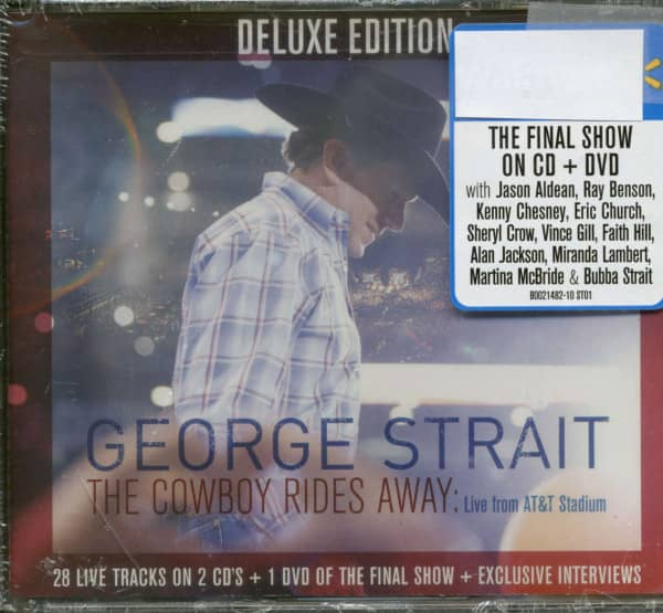 The Cowboy Rides Away: Live From AT&T Stadium (CD+DVD)