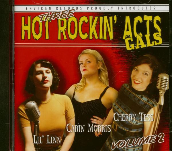 Three Hot Rockin' Acts - Gals Vol.2 (CD)