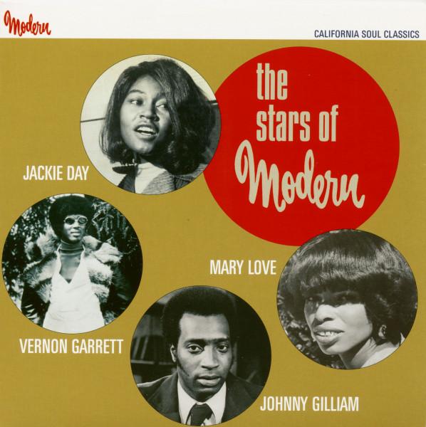 The Stars Of Modern - California Soul Classics (7inch, EP)