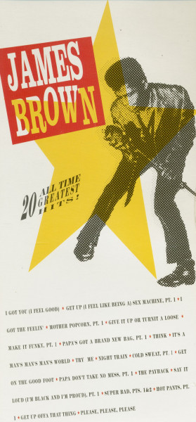 James Brown - 20 All Time Greatest Hits (CD, Longbox Packaging)