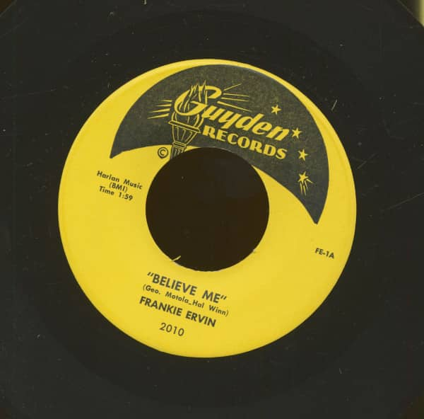 Believe Me - Why Don't You Go (7inch, 45rpm)