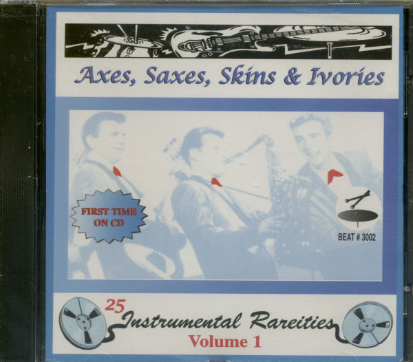 Axes, Saxes, Skins & Ivories (CD)