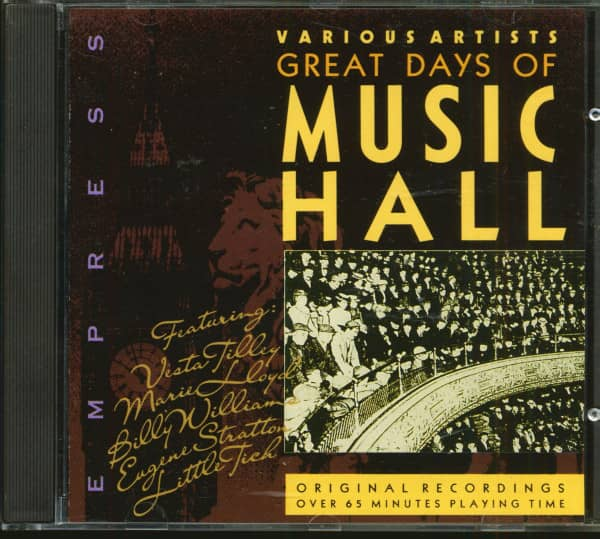 The Great Days Of Music Hall (CD)