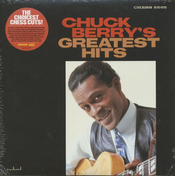 Chuck Berry's Greatest Hits (LP, Mono, Yellow Vinyl, Ltd.)