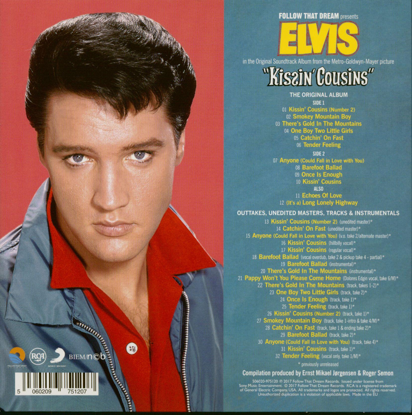 Elvis Presley Kissin' Cousins (CD, 7inch Deluxe Packaging)
