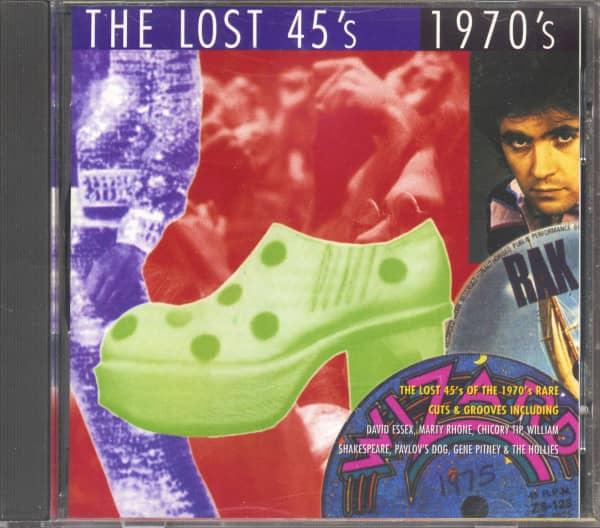The Lost 45's - 1970's (CD)