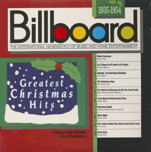 Billboard Greatest Christmas Hits - 1935 - 1954 (LP)