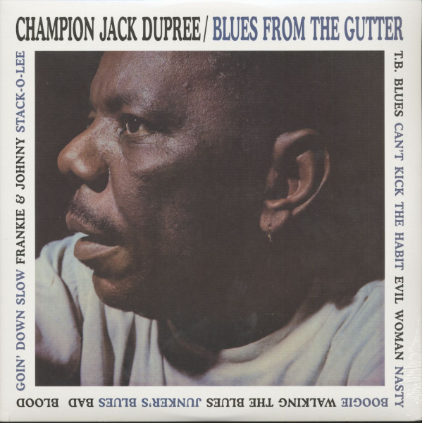 Blues From The Gutter (LP, 180g Vinyl)