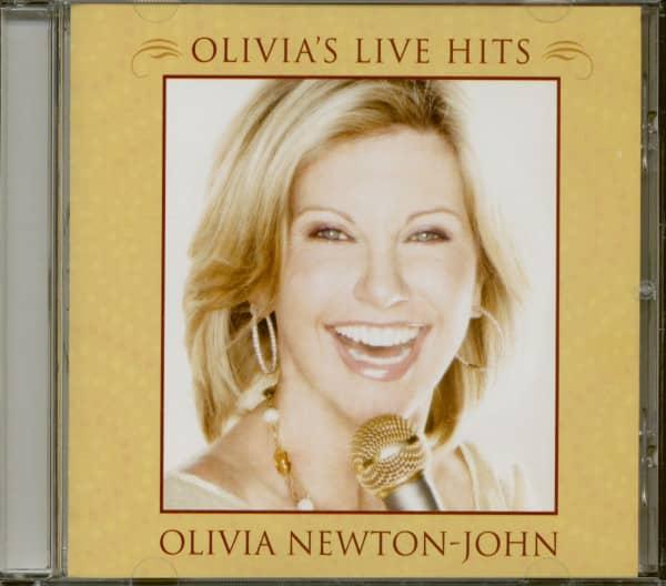 Olivia's Live Hits (CD)
