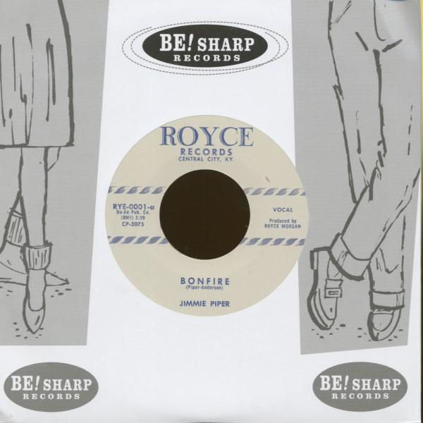 Bonfire - I Met A Girl (7inch, 45rpm)