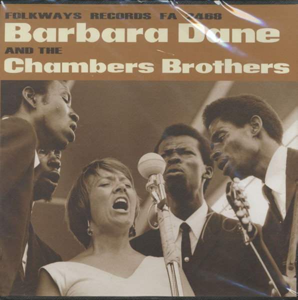 Barbara Dane & The Chambers Brothers (LP)
