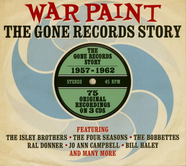 War Paint - The Gone Records Story (3-CD)