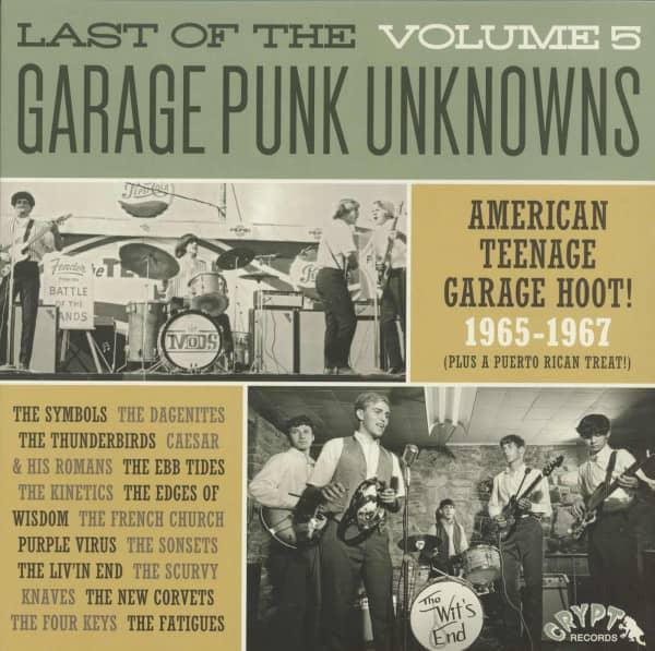 Last Of The Garage Punk Unknowns, Vol.5 (LP)