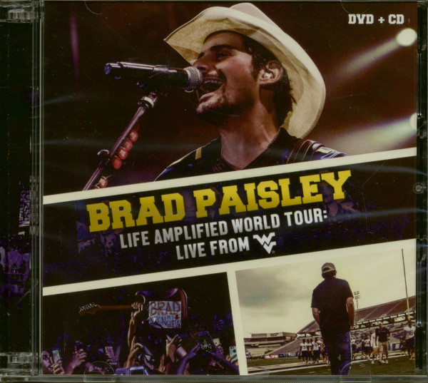 Life Amplified World Tour: Live From WVU (CD+DVD)