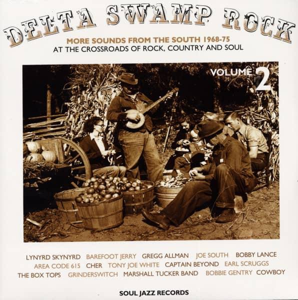 Delta Swamp Rock Vol.2 (2-LP)