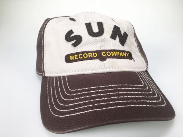 SUN RECORDS Distressed Cap - Sun Record Company - brown
