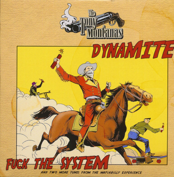 Dynamite - Fuck The System (CD-EP, Ltd.)