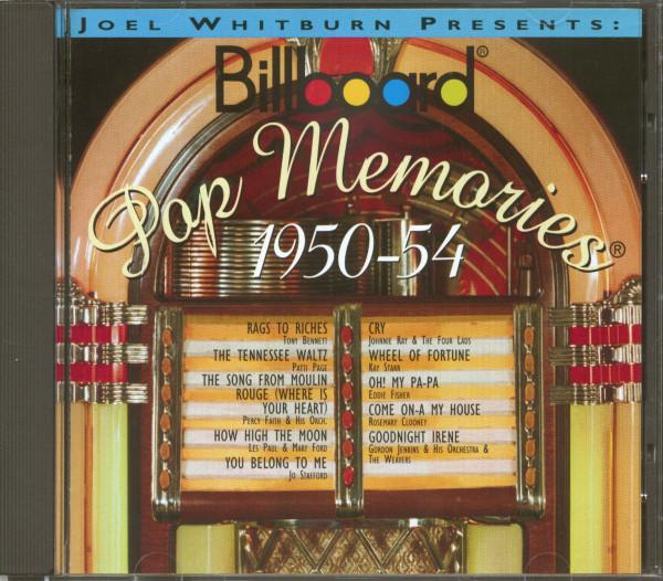 Billboard Pop Memories - 1950-1954 (CD)
