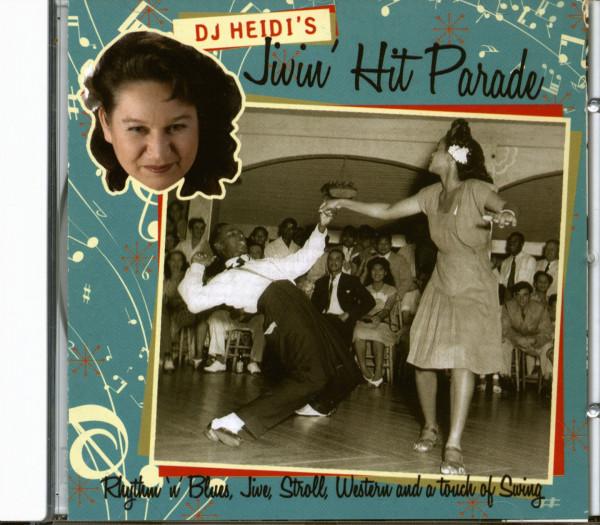 DJ Heidi's Jivin' Hit Parade (CD)