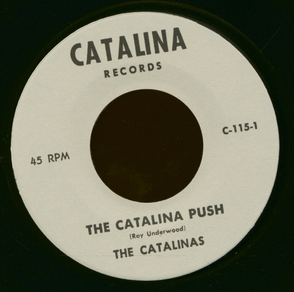 The Catalina Push - Baby Come Home (7inch, 45rpm)
