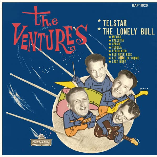 The Ventures Play Telstar - The Lonely Bull (LP, 10inch, Ltd.)