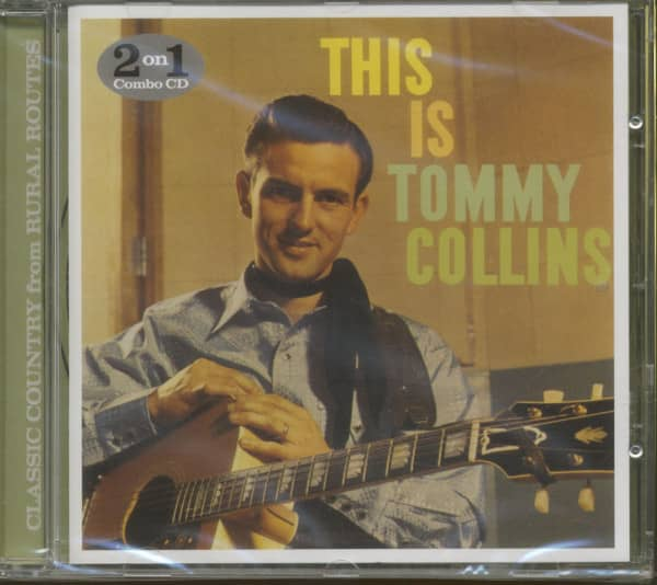 This Is Tommy Collins - Words And Music Country Style (CD)